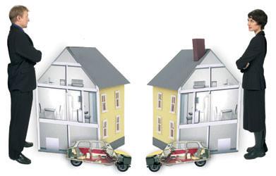 раздел дома после развода