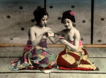 2 гейши занимаются сексам видео